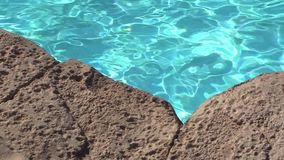Rocks Blue Water Close. Video of Rocks Blue Water Close stock video footage