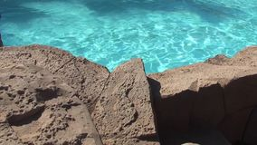 Rocks Blue Water. Video of Rocks Blue Water stock video footage