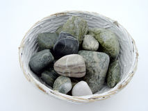 Rocks in Bowl Stock Photos