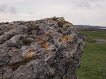 Rocks in the Burren in Ireland Royalty Free Stock Photo