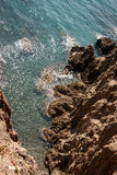 Rocks of cabo de gata Stock Photos