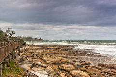 Rocks At Caloundra Royalty Free Stock Photos