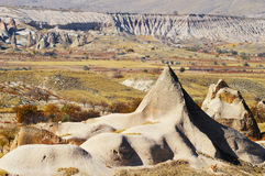 Rocks of Cappadocia in Central Anatolia, Turkey Stock Photo
