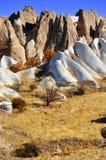 Rocks of Cappadocia in Central Anatolia, Turkey Stock Photos