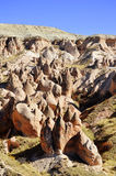 Rocks of Cappadocia in Central Anatolia, Turkey Stock Photos