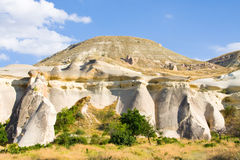 Rocks in the Cappadocia, Turkey Stock Photo