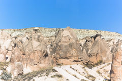 Rocks in Cappadocia Stock Photography