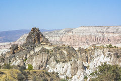 Rocks in Cappadocia Royalty Free Stock Photos