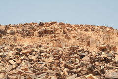 Rocks in Carpenteria, Negev desert Stock Photography