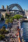The Rocks on Circular Quay in Sydney Stock Image