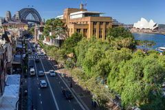 The Rocks on Circular Quay in Sydney Stock Photo
