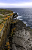 Rocks and cliffs, Caithness, North Scotland Stock Image