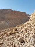 Rocks and cliffs in Masda national park Stock Image