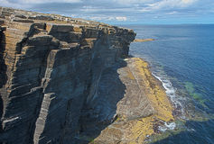Rocks and cliffs at Orkney islands - HDR image Stock Photo