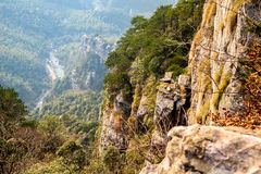 rocks and cliffs Royalty Free Stock Photos