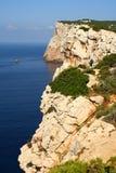 Rocks on the coast. Rocks (cliffs) on the coast in Sardinia Stock Image
