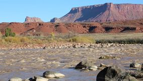 Rocks in Colorado River