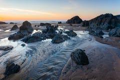 Combesgate Beach Devon Royalty Free Stock Photo