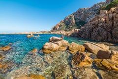 Rocks in Costa Paradiso. Sardinia Stock Image