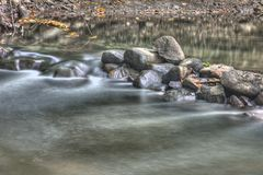 Rocks in the Creek Stock Photos