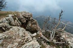 Rocks in Crimea (Ukraine) Stock Photos