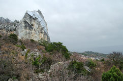 Rocks in Crimea (Ukraine) Stock Image