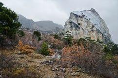 Rocks in Crimea (Ukraine) Stock Images