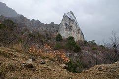 Rocks in Crimea (Ukraine) Royalty Free Stock Photo