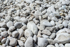 Rocks on croatian beach, Adriatic sea,. Eastern Europe Stock Photo