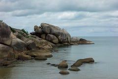 Rocks on Crystal Bay Beach, Koh Samui, Thailand Royalty Free Stock Photo