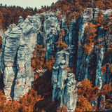 Rocks in Czech Royalty Free Stock Images
