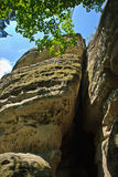 Rocks in Czech republic Royalty Free Stock Photography