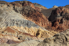 The rocks in Death Valley Royalty Free Stock Photos