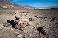 Rocks in death valley national park Royalty Free Stock Image