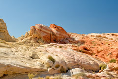 Rocks in the desert Royalty Free Stock Photo