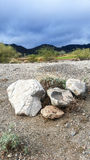Rocks and desert Stock Photography