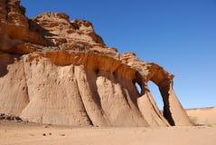 Rocks in the desert, Sahara desert, Libya Stock Photos