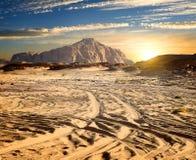 Rocks in desert Stock Photography