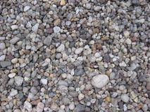 Rocks. Different size rocks in a grey tone Royalty Free Stock Images