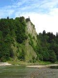 Rocks at Dunajec river Royalty Free Stock Photography