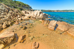 Rocks in Ea Bianca foreshore Stock Photos