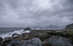 Rocks of Elgol Royalty Free Stock Photography