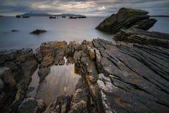 Rocks-Elgol Stock Image