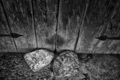 Rocks; Entryway Stock Image
