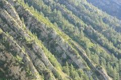 rocks för arapyrenees flod Arkivfoton