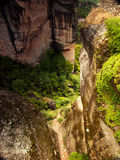 Rocks in famouse Meteora. Greece Royalty Free Stock Photo