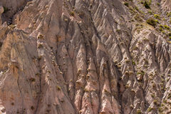 Rocks in the Fan Mountains. Pamir. Tajikistan Stock Photos