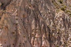 Rocks in the Fan Mountains. Pamir. Tajikistan Stock Photos