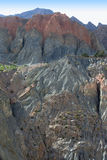 Rocks in the Fan Mountains. Pamir. Tajikistan, Central Asia Royalty Free Stock Photos