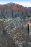 Rocks in the Fan Mountains. Pamir. Tajikistan, Central Asia Royalty Free Stock Photos